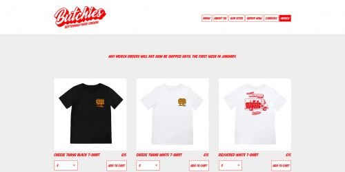 Butchies Fried Chicke - Merch Page